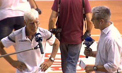 Δάκρυσε on camera ο τιμ μάνατζερ του Παναθηναϊκού (video)