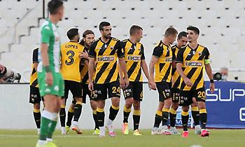 Η ευρύτερη εκτός έδρας νίκη της ΑΕΚ επί του Παναθηναϊκού από καταβολής Α' Εθνικής