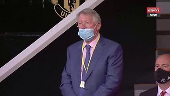 Έβαλε τη μάσκα του και πήγε στο γήπεδο ο Φέργκιουσον