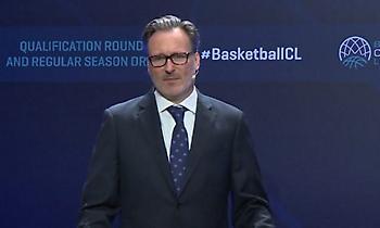 """Κομνηνός: """"Η ανάπτυξη του Basketball Champions League μας γεμίζει περηφάνια και ευθύνη"""""""