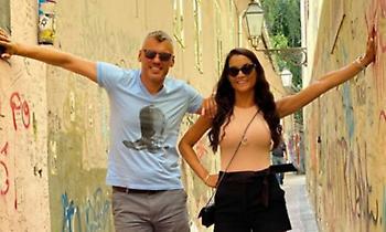 Σάρας Γιασικεβίτσιους: Οικογενειακές διακοπές στην Κέρκυρα (photos)