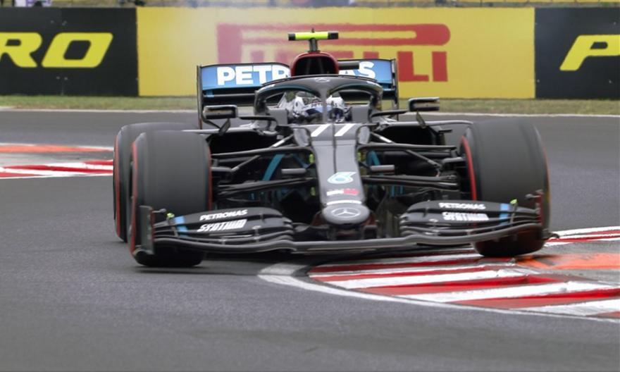 Γκραν Πρι Ουγγαρίας: Κυριαρχία μαύρων και... ροζ Mercedes στο FP3