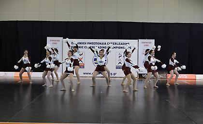 Σε εξέλιξη το 4ο Πανελλήνιο Πρωτάθλημα Cheerleading