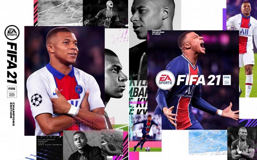 Επίσημο: Ο Εμπαπέ στο εξώφυλλο του FIFA 2021