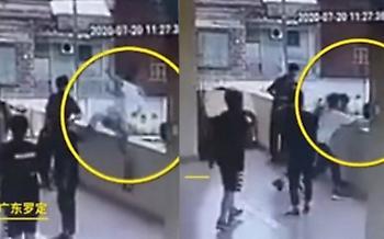 Μαθητής στην Κίνα έπεσε από ψηλά μιμούμενος τον Κόμπι (video)