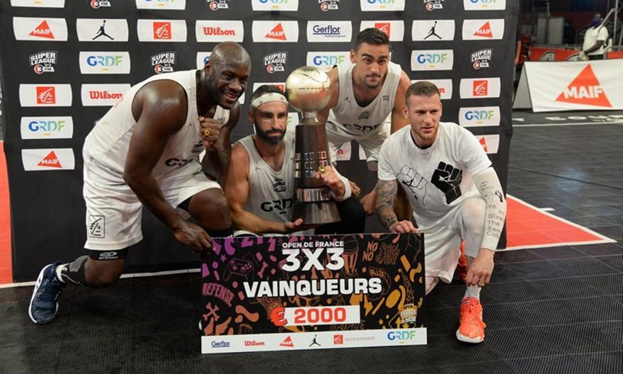Πρωταθλητής και MVP σε τουρνουά 3x3 στη Γαλλία ο Τσαγκαράκης!