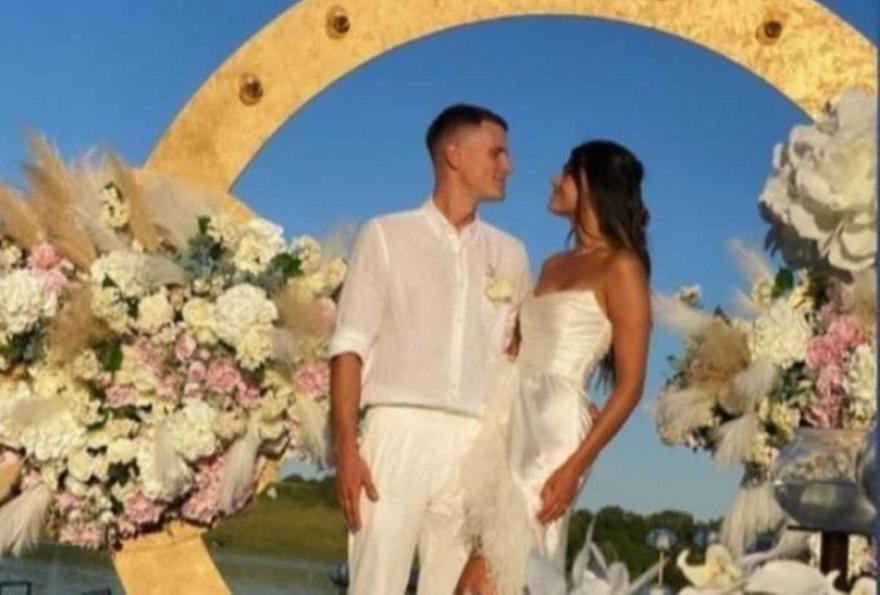 Γάμος πριν τον... Παναθηναϊκό για τον Νέντοβιτς (pics)