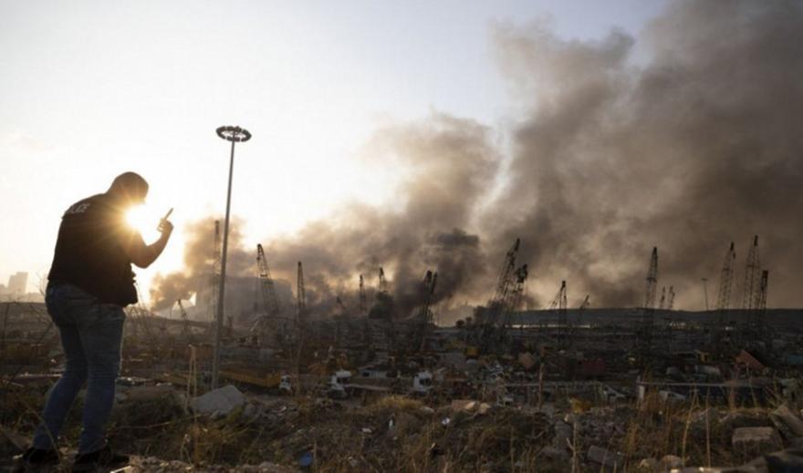 Βηρυτός: Εξερράγησαν 2.750 τόνοι νιτρικού αμμωνίου