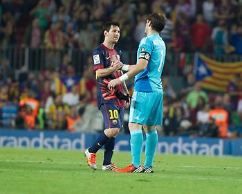 Μέσι για Κασίγιας: «Ο Ίκερ έχει περάσει ήδη στην ιστορία του ποδοσφαίρου»