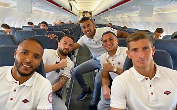 Η ερυθρόλευκη φωτογραφία από την πτήση για Αγγλία (pic)