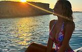 Η Ντιλέτα Λεότα άρχισε διακοπές και τροφοδοτεί το Instagram (pics)