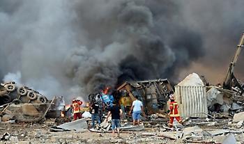 Έκρηξη- Λίβανος: Σε κατ' οίκον περιορισμό αξιωματούχοι του λιμένα της Βηρυτού