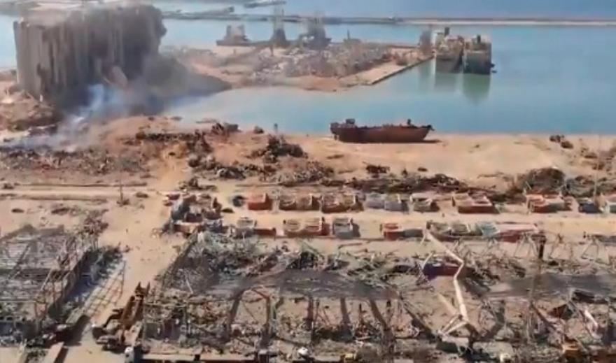 Βηρυτός – Θυμίζει Χιροσίμα: Kαρέ καρέ η ασύλληπτη καταστροφή από drone (videos)