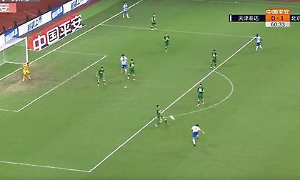 Απίθανο γκολ στην Κίνα (video)
