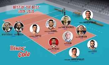 Η κορυφαία επτάδα της Volley League