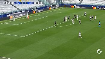 Παίζει μόνος του τη Λιόν ο Κριστιάνο: Με ΓΚΟΛΑΡΑ κάνει το 2-1 (video)