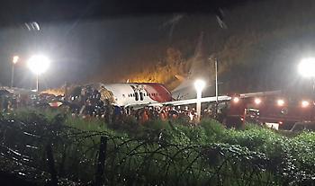 Ινδία: Στους 18 αυξήθηκε ο αριθμός των νεκρών από το αεροπορικό δυστύχημα