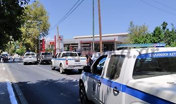Κρήτη: Κινηματογραφική καταδίωξη - Φορτηγάκι εμβόλισε περιπολικό