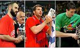 Ευρωλίγκα: Οι MVPs του Final Four μέσα από φωτογραφίες