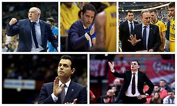Οι γηραιότεροι προπονητές της Ευρωλίγκας