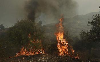 Κύπρος: Εκκένωση χωριού λόγω της φωτιάς στην επαρχία Λεμεσού