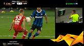 Το πέναλτι που κέρδισε η Ίντερ αλλά πήρε πίσω με VAR ο διαιτητής (video)
