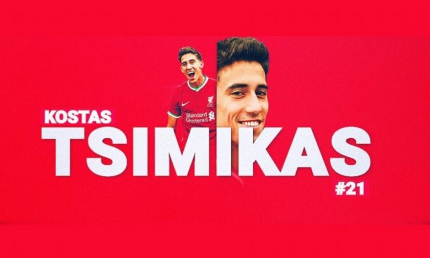 «Εξώφυλλο» σε όλα τα social media της Λίβερπουλ ο Τσιμίκας – Αποθεωτικά σχόλια για τον Έλληνα άσο!