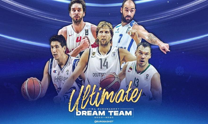 Διαμαντίδης-Σπανούλης στην απόλυτη πεντάδα της FIBA