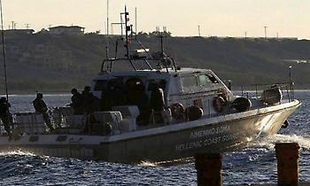 Καταδίωξη σκάφους από το Λιμενικό στη Ρόδο, διέφυγε προς τις τουρκικές ακτές