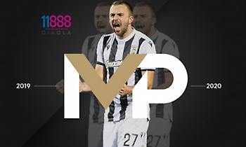 MVP της σεζόν για τον ΠΑΟΚ ο Μίσιτς