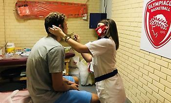 Αρνητικά τα τεστ κορονοϊού στον Ολυμπιακό