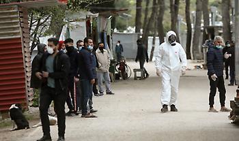 Μυτιλήνη: Θετικός στον κορωνοϊό ένας από τους 55 πρόσφυγες και μετανάστες που έφτασαν χθες