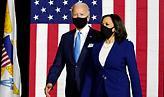 Πρώτη κοινή εμφάνιση Μπάιντεν-Χάρις με την υπόσχεση να «ανοικοδομήσουν» την Αμερική