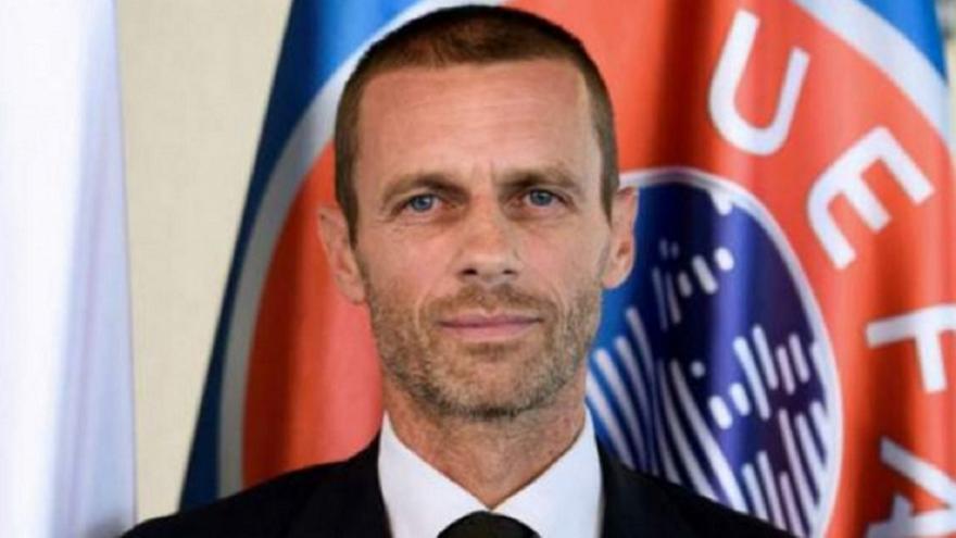 Τσέφεριν: «Πιστεύουμε ότι θα έχουμε θεατές στα γήπεδα στο Euro»