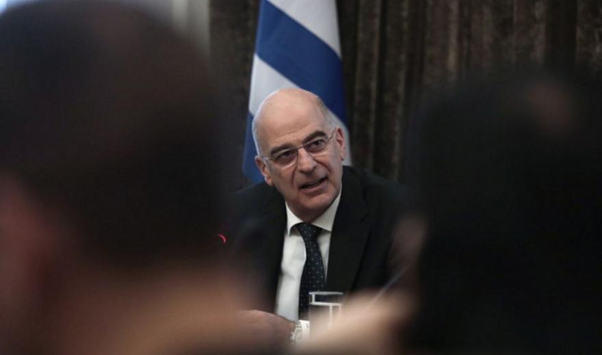 Μπαράζ διπλωματικών επαφών Δένδια ενόψει έκτακτου Συμβουλίου ΥΠΕΞ της ΕΕ