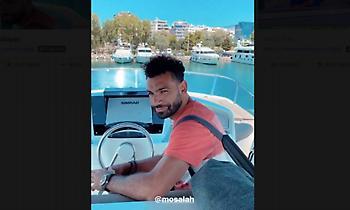 Στην Ελλάδα παρέα με τον Χασάν ο Σάλαχ (video)