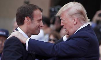 Μακρόν: Ενημέρωσα Τραμπ για την Ανατολική Μεσόγειο - Θα επιβάλουμε τα συμφέροντά μας