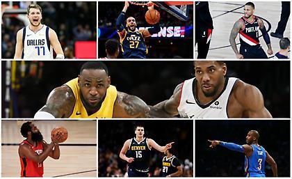 Δυτικά playoffs: Το ιστορικό ραντεβού του LA και τα μεγάλα αουτσάιντερ