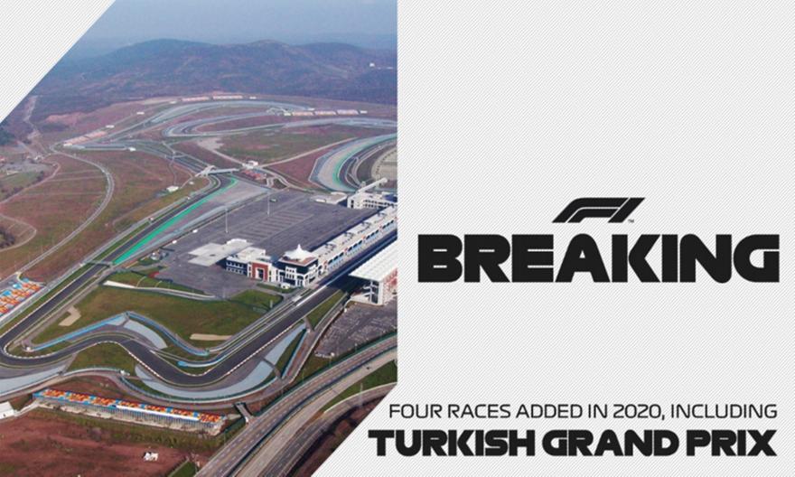 Ανακοινώθηκαν τα 4 τελευταία γκραν-πρι της F1 - Επιστρέφει η Τουρκία μετά από 9 χρόνια!