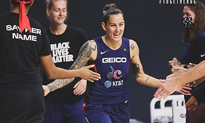 Τζάκι Γέμελος: Βασική για πρώτη φορά στην καριέρα της στο WNBA