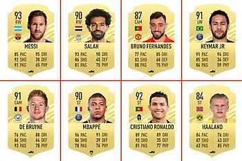 Οι δέκα παίκτες με το υψηλότερο rating στο FIFA 21