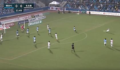 Απίθανο «τούβλο» στο πρωτάθλημα Ιαπωνίας (video)