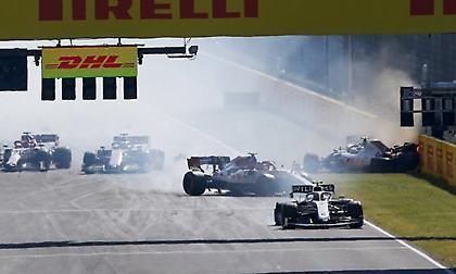 F1: Δώδεκα οδηγοί προειδοποιήθηκαν για το συμβάν της επανεκκίνησης