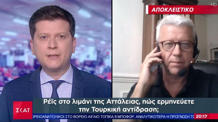 Γάλλος αναλυτής σε ΣΚΑΪ: Αδύνατο να μην πρέμβει η Γαλλία σε θερμό επεισόδιο Ελλάδας- Τουρκίας