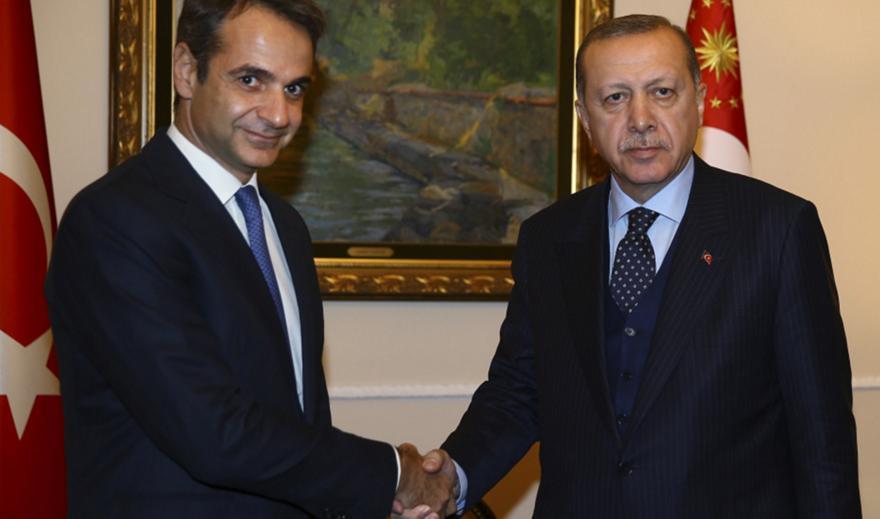 Ανοιχτό το ενδεχόμενο ακόμη και τηλεφωνικής επικοινωνίας Μητσοτάκη-Ερντογάν πριν την Σύνοδο Κορυφής