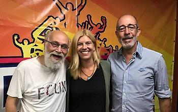 Audio: Η Ολγα Λασκαράτου στο Μπαμ και Κάτω
