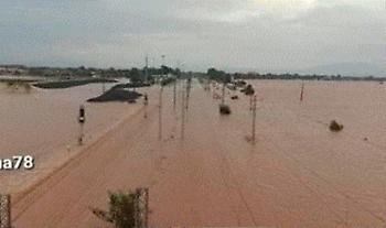 ΟΣΕ: Σοβαρές ζημιές του δικτύου σε σημεία της γραμμής Λιανοκλάδι - Λάρισα