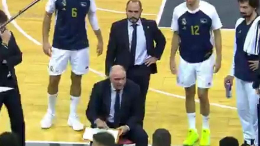 Άρχισε την… κατσάδα στους παίκτες της Ρεάλ ο Λάσο! (video)