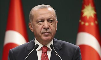 Ερντογάν για Μεσόγειο:Δίνουμε χώρο στη διπλωματία-Θα υπερασπιστούμε ύδωρ και γη