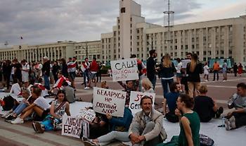 Λευκορωσία: Η αστυνομία ενισχύει με ειδικά οχήματα την παρουσία της στο Μινσκ